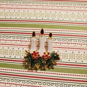 Vtg Christmas pins
